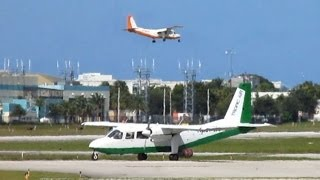Compilation of Tropic Air Charters' fleet of Britten-Norman BN-2 Islanders operating at the Ft. Lauderdale Executive Airport (FXE).