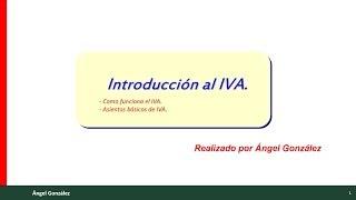 La contabilización del IVA