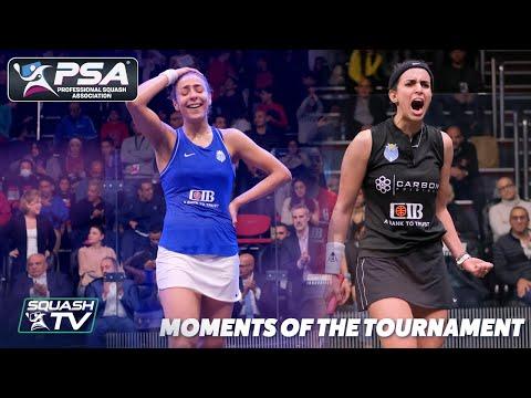 Squash: CIB Black Ball Women's Open 2020 - Moments of the Tournament