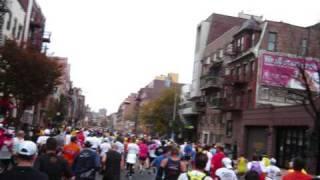 First time Marathon: New York 2009 Marathon