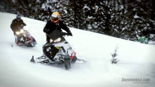 10. 2012 Polaris 600 Pro-RMK Snowmobile Review