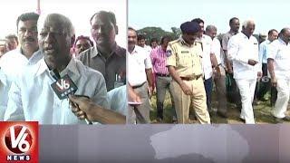 CM KCR To Lay Foundation Stone For Mega Textile Park | Dy CM Kadiyam Inspects Arrangements