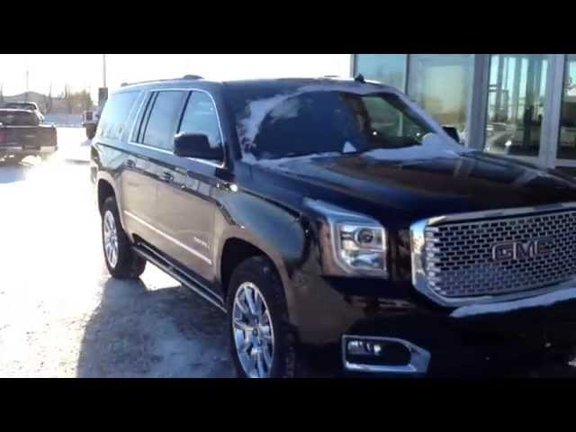 brand new 2015 gmc yukon xl denali for sale in medicine hat. Black Bedroom Furniture Sets. Home Design Ideas