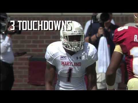 Stefon Diggs Sophomore Highlights video.