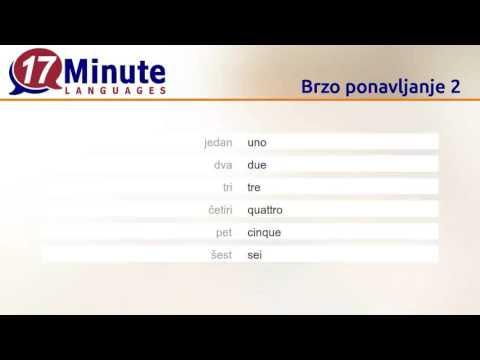 Učenje talijanskog (Besplatni video zapisi)
