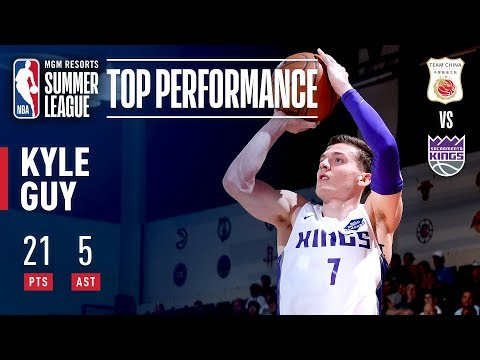 Video: Kyle Guy's Strong Effort Leads Kings To Summer League Win   July 6, 2019