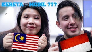 Video Bahasa Challenge: INDONESIA VS MALAYSIA - Same language? MP3, 3GP, MP4, WEBM, AVI, FLV Desember 2018