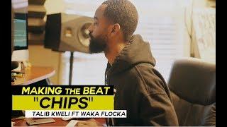 "Beat Making ""Chips"" - Talib Kweli ft Waka Flocka Prod by J Rhodes [Logic Pro x Maschine Studio]"