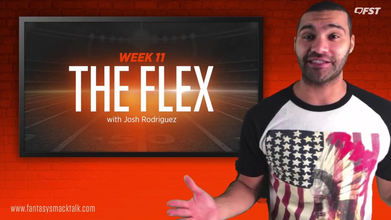 The Flex – 2018 Fantasy Football Week 11 thumbnail