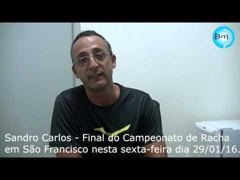 São Francisco - Nesta quinta e sexta-feira dia 29 acontece o final do Campeonato de Racha.
