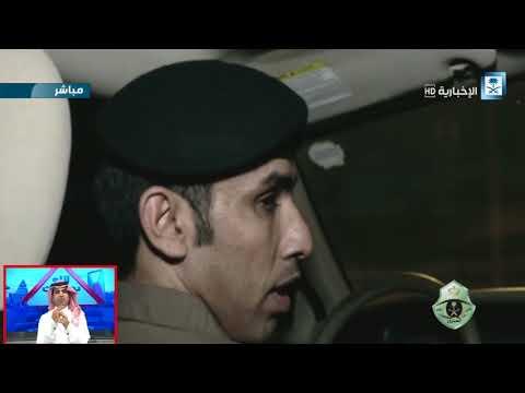 #فيديو ::: المرور السري يوقف بالقوة الجبرية مخمورين يقودون سياراتهم في طرق الرياض