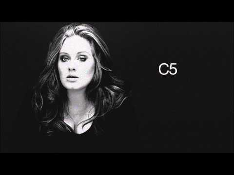 Adele: Studio Vocal Range C3-F#5 (G5) - HD