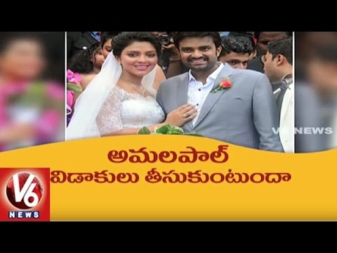 Actress Amala Paul Wants Divorce From Husband AL Vijay