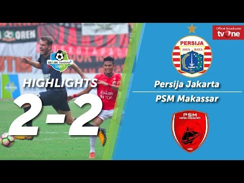 Persija Jakarta vs PSM Makassar: 2-2 All Goals & Highlights