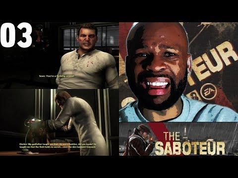 The saboteur strip club