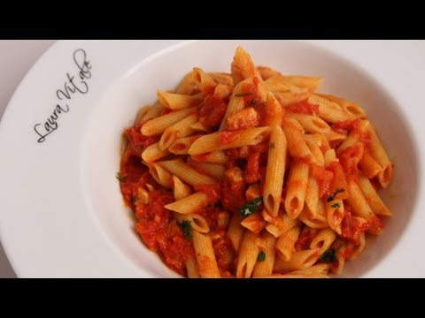 pasta - To get this complete recipe with instructions and measurements, check out my website: http://www.LauraintheKitchen.com Official Facebook Page: http://www.fac...