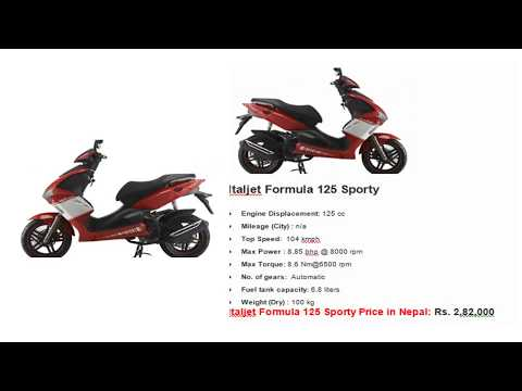 Italjet Scooters Price in Nepal