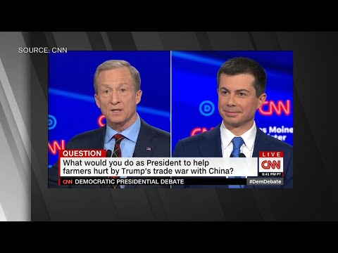 Watch Pete Buttigieg Call Out Steyer on Climate Change Stance