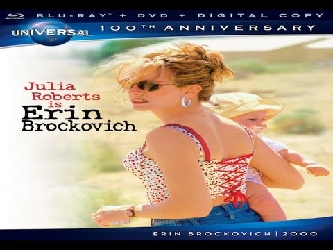Erin Brockovich Blu-Ray Unboxing (HD)