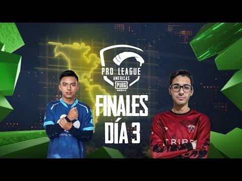 [ES] PMPL América Temporada 2 Finales | Día 3 | PUBG MOBILE Pro League 2020