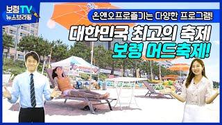 뉴스브리핑 | 보령 한주 뉴스 이슈! 잇슈! 대한민국 최고의 축제 보령 머드축제!
