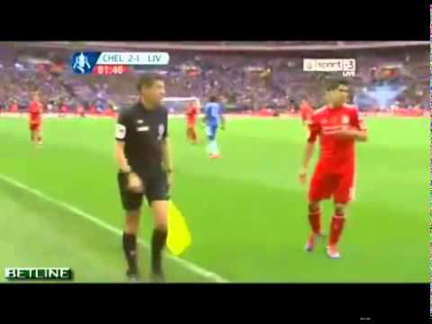 Chelsea 2:1 Liverpool - Controversial Referee Decision (Carroll Goal?!)