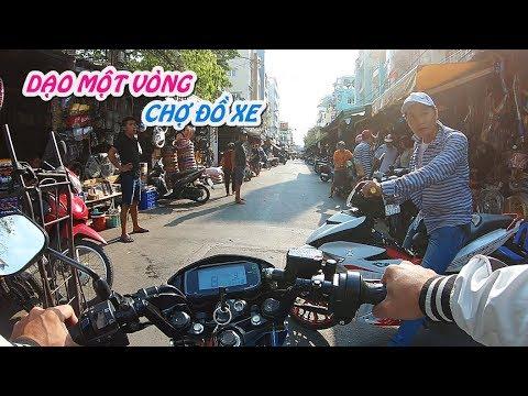 Raider Fi #4 Dạo chơi Chợ Tân Thành, phụ tùng xe máy lớn nhất Sài Gòn | Motovlog - Thời lượng: 10:26.