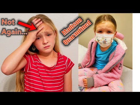 Madison Tests Positive! Trinity Goes To the School Nurse!!