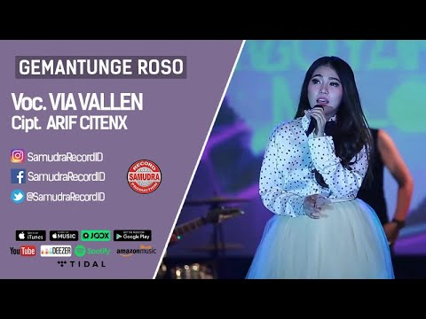 Video Via Vallen - Gemantung Roso (Official Music Video) download in MP3, 3GP, MP4, WEBM, AVI, FLV January 2017