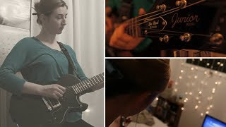 Antonia Dolhaine from Montreal took on the #rocksmith60 day challenge to lean guitar in 60 days using the Rocksmith 2014 Edition - the fastest way to learn g...