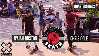 Video Nyjah Huston vs. Chris Cole Game of Skate Quarterfinals - World of X Games MP3, 3GP, MP4, WEBM, AVI, FLV Juni 2017
