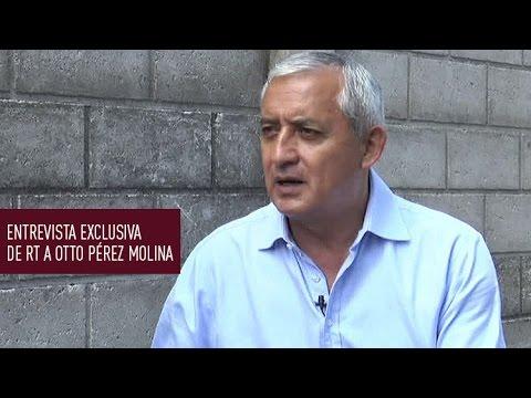 Pérez Molina en exclusiva a RT: