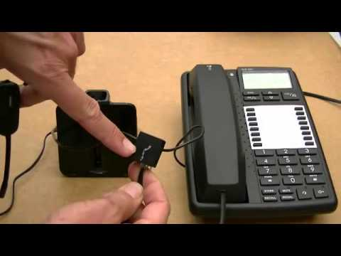 Set up Plantronics CS540 wireless telephone headset