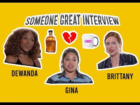 DeWanda Wise, Gina Rodriguez, and Brittany Snow On Friendship and Soulmates in 'Someone Great'