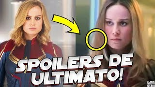 VINGADORES 4 ULTIMATO! TODOS OS SPOILERS QUE CAPITÃ MARVEL REVELOU DO FILME
