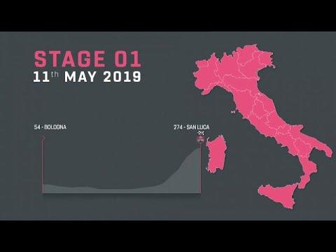 Παρουσιάστηκε η διαδρομή του Giro d' Italia 2019