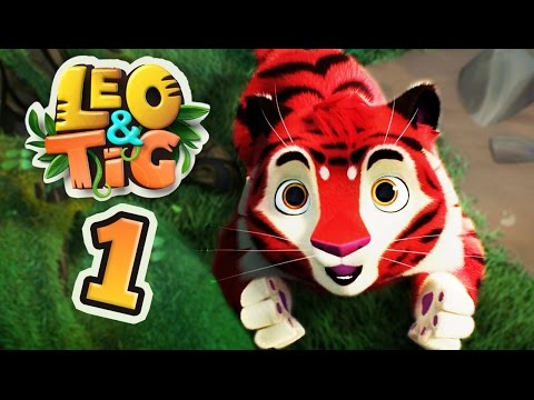 Leo and Tig EP 1 - New family animated movie 2017 Cartoons KEDOO animation for kids