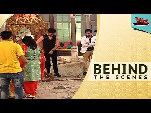 Behind the scenes of thapki pyar ki