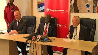 KenyaAirways Operating profit of 897m, Improvement of 5b over previous year, 4.081b currency losses ~ reports 10.207b FY Loss...