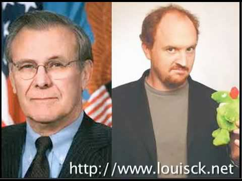 Louis C.K. Asks Donald Rumsfeld If He Is A Lizard
