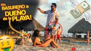 """Recogedor de Basura"" Humilla A Mujer Interesada (Gold Digger Prank) | Adolfo Lora"