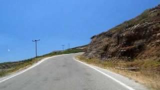 Road to the Preveli monastery (Πρέβελη)