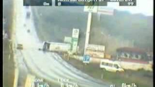 Bad Accident, Stupid Car Driver, Bus Skid And Crash On Road 1475223 YouTube-Mix