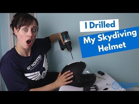 Skydiving Gear - Mounting a Camera on my Skydiving Helmet