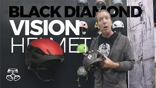 Black Diamond 2020 Vision Helmet by WeighMyRack