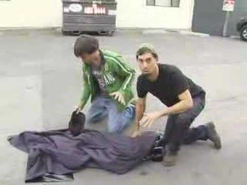 David Blaine Street Magic Part 3