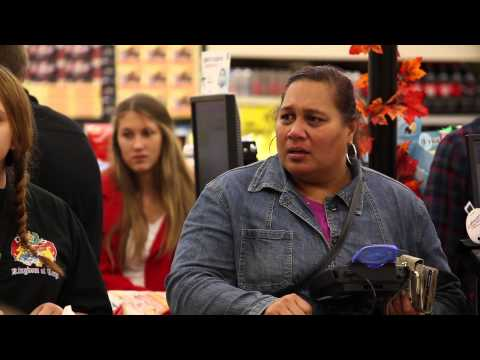 WATCH: Paying for People's Groceries