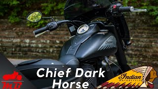 2. 2018 Indian Chief Dark Horse Detailed Review