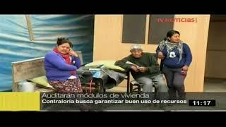 Ndp 80. Contraloría audita primera adquisición de módulos temporales de vivienda (Tv Perú)
