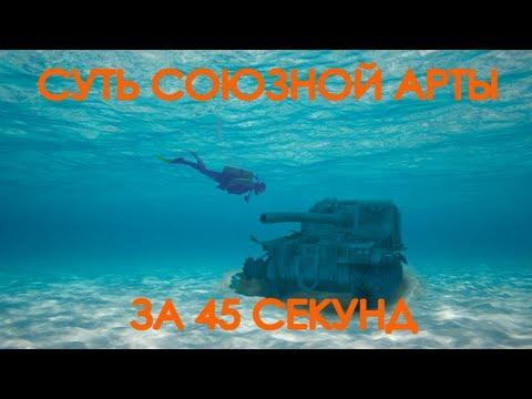Суть союзной артиллерии за 45 секунд